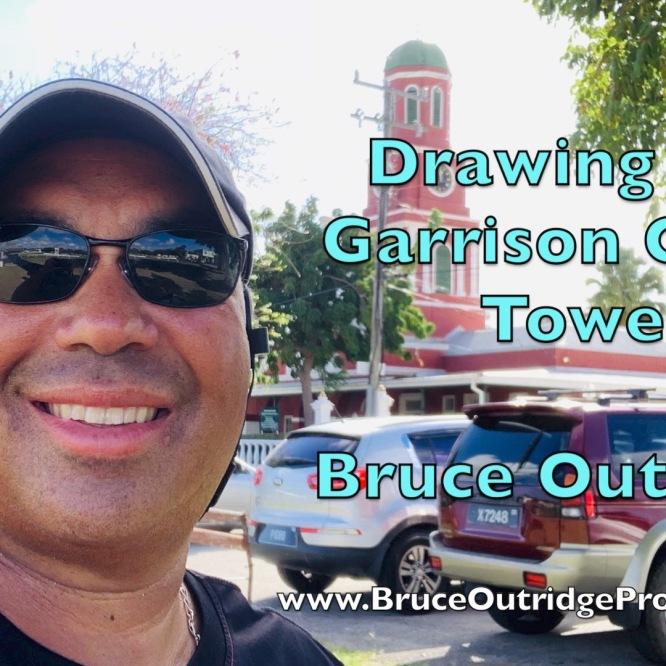 Garrison Clock Tower Sketch Walk