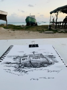 Dover Beach Sketch Walk