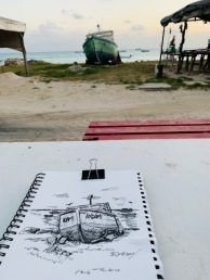 Dover Beach Sketch Walk
