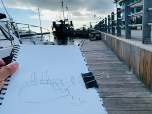 Boat Sketching with Bruce Outridge