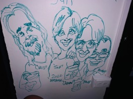 Caricaturing at Hashtags