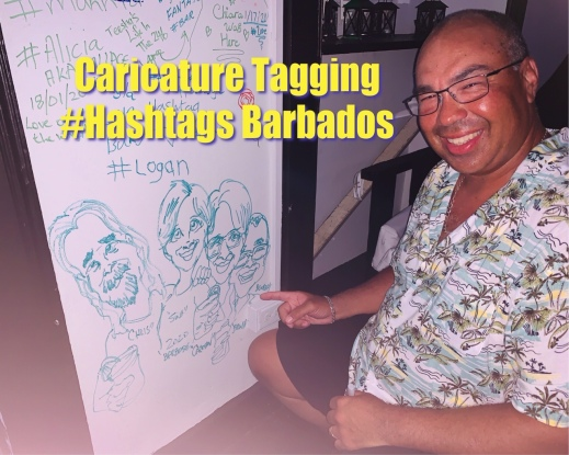 caricature tagging-Hashtags 1