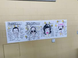 Graphic Recording Black History Month