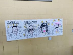 Graphic recording caricatures