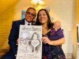 Venditello Wedding Caricatures