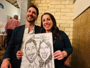 Venditello Wedding Caricatures