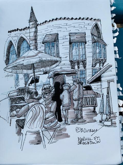 Bridgetown Sketch Walk