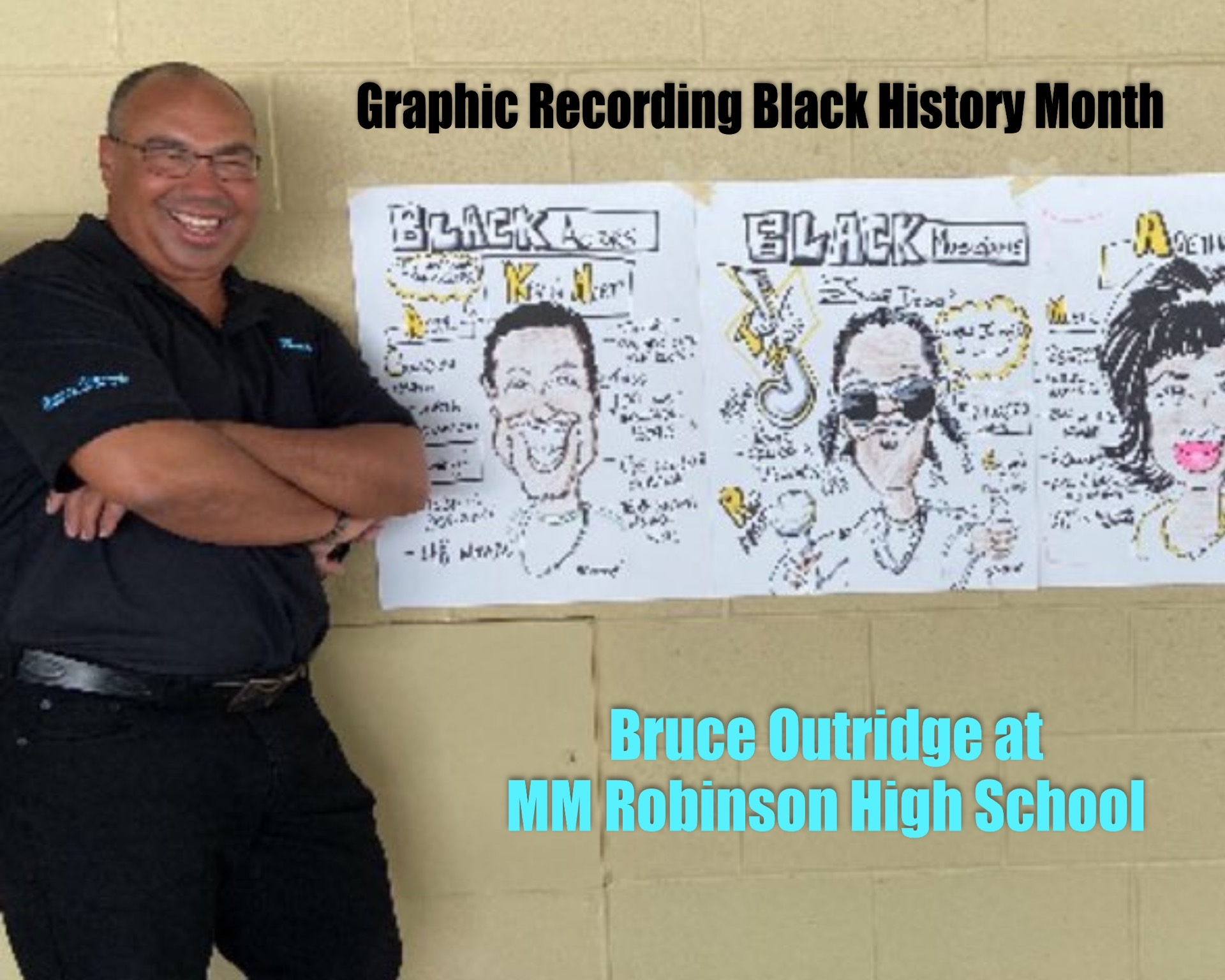 Bruce Graphic Records Black History Month