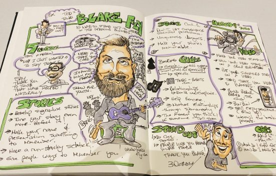 Graphic Recording Blake Fly