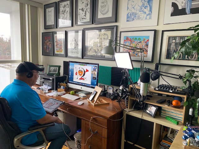 Online Art Class a Big Hit During Pandemic
