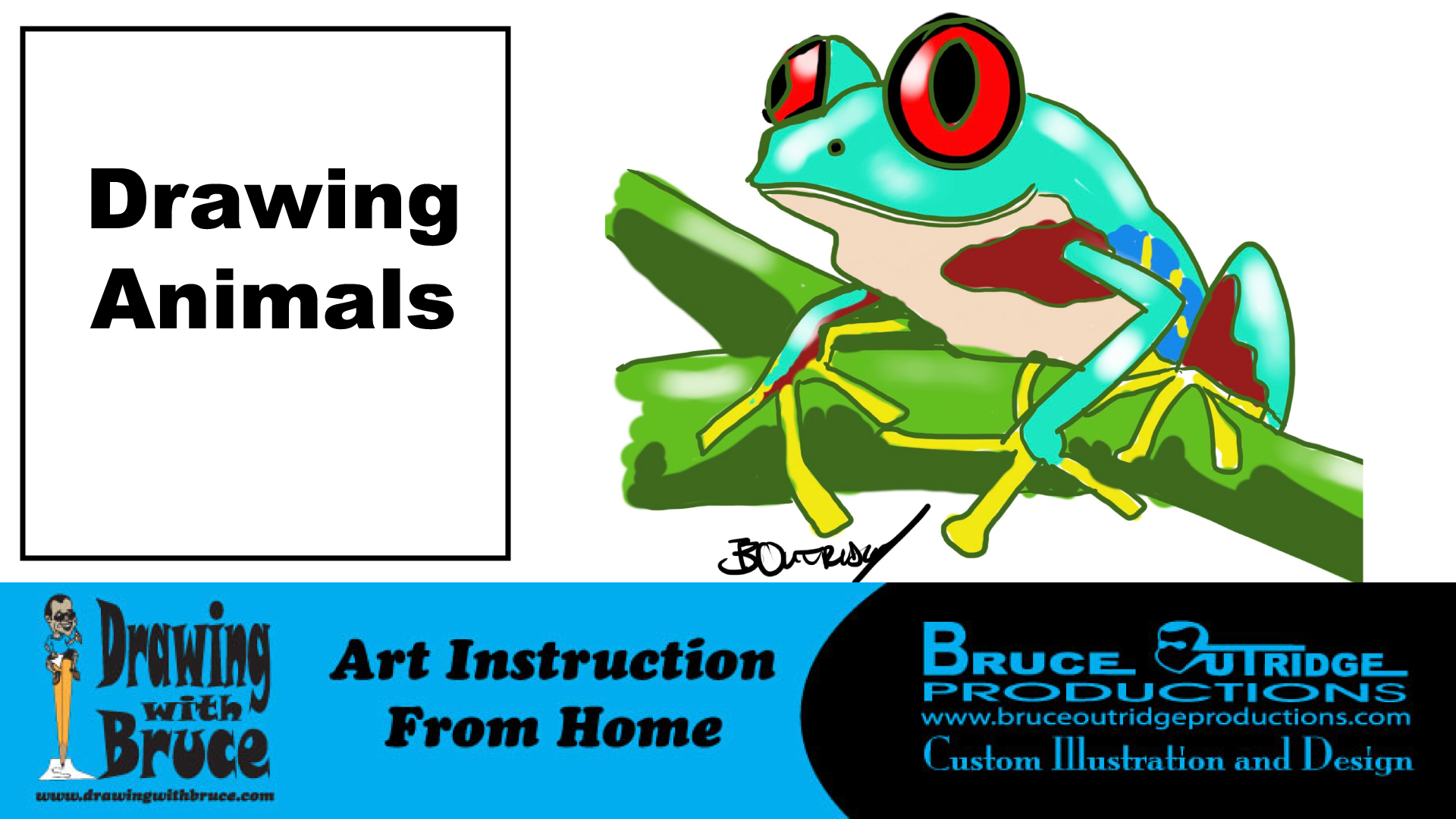 Learn to Draw Animals-Online Art Instruction for Kids