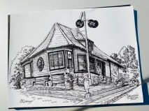Burlington Junction Sketch Walk