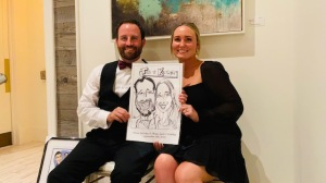 Olivia Clewley Wedding Caricatures